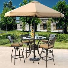 Patio Set Umbrella Patio Furniture With Umbrella Outdoor 4 Picnic Table