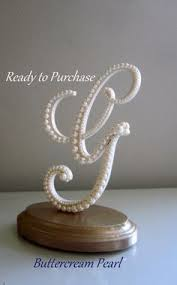 k cake topper letter cake topper wedding monogram b pearl cake topper