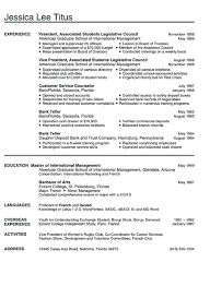 college graduate resume resume template college graduate resumes templates for college in