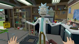 Pc Room Rick And Morty Virtual Rick Ality Pc Vr Review Chalgyr U0027s