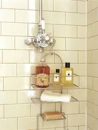 shower cleaning ideas for a gleaming powder room decor advisor bath merchandise on a shower caddy bath products