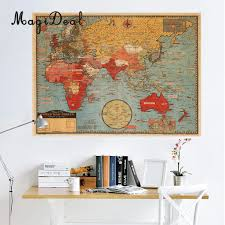 Large World Maps by Compare Prices On Large Wall Maps Online Shopping Buy Low Price
