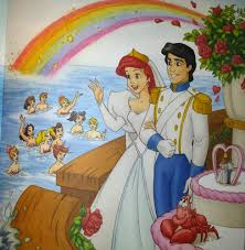 the little mermaid storybook pictures
