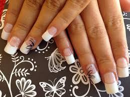white tip acrylic nail designs nail designs pinterest