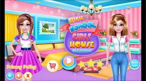 highschool girls house cleaning games for android youtube