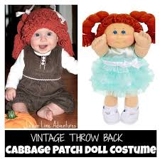 Cabbage Patch Kids Halloween Costume Simple Cabbage Patch Doll Costume