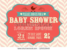 baby shower invitation stock images royalty free images u0026 vectors