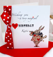 in personalised birthday card by made with