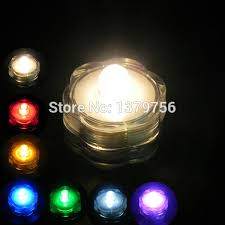 coin battery powered 36pcs color changing flower shape mini led
