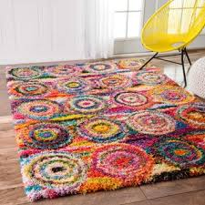 Bright Colored Area Rugs Multi Contemporary Rugs U0026 Area Rugs Shop The Best Deals For Oct