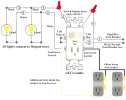 wiring diagrams gfci circuit breaker 20 amp outlet magnificent