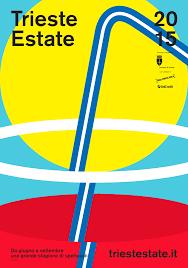 Cmyk Spectrum Trieste Estate Poster 70 X 100 Cm Offset Cmyk For Comune Di