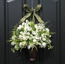 Modern Front Door Decor by Elegant Design Of The Front Door Decor Ideas That Has Black Door