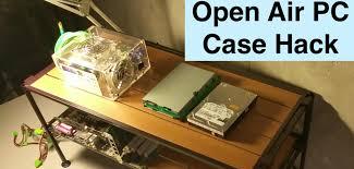 open air pc case tech station hack unboxing diy bryan