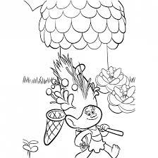 Coloriage Les trolls Poppy à laventure dessin gratuit à imprimer