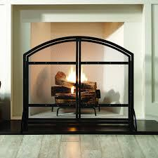 amazon com pleasant hearth harper arched fireplace screen with