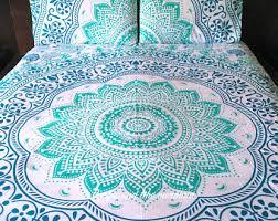 mandala tapestry duvet cover and 2 matching pillowcases