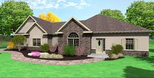ranch home plans side garage cottage house house plans 20093
