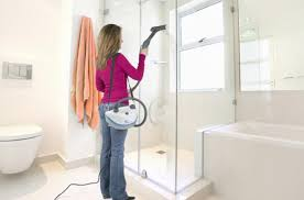 learn about portable steam cleaning machines for bathroom surfaces