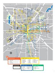 Map Indianapolis Indygo U0027s Frequency Maps Urban Indy