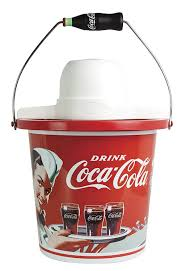 amazon com nostalgia icmp400coke coca cola 4 quart ice cream