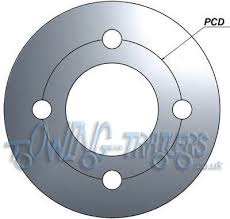 working out pitch circle diameters pcd uk trailer parts