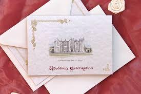 illustration wedding invitations from celtic wedding stationery