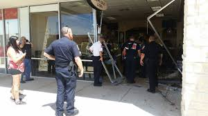 two injured after car crashes into bryan nail salon local news