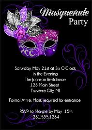 masquerade party invitation template musicalchairs us
