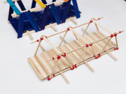 how to build a model bridge out of skewers 11 steps