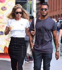 lyrica anderson husband doutzen kroes and husband sunnery james u2013 out in soho celebs by