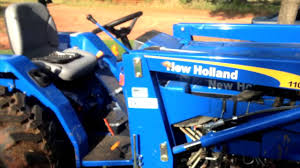 new holland t1520 tractor youtube