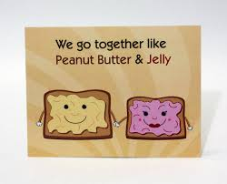 punny valentines day cards s day card peanut butter and jelly