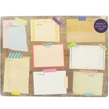 Weekly Desk Pad Five Of The Best Desk Planners Novelicious Com The Women U0027s
