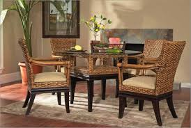 Wicker Dining Chairs Design Bed  Shower - Rattan dining room set