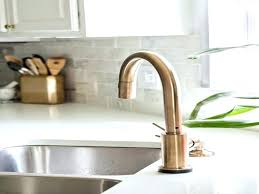 bronze kitchen faucets chagne bronze kitchen faucet setbi club