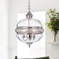 Clear Glass Pendant Light Clear Glass Ceiling Lights For Less Overstock Com