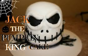 how to make a 3d jack the pumpkin king cake for halloween youtube