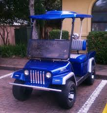 Club Car Ds Roof by Custom Golf Carts And Street Legal Golf Cart Service Sales