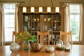 Dining Room Candle Chandelier Linear Chandelier Dining Room Farmhouse With Bell Jar Bookcase