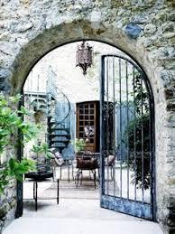 originelle gartentür atemberaubende ideen garten terrasse
