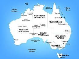 map of australia political australia map political australia map with cities