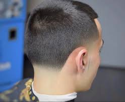 men sharp line haircuts with taper fade step by step guide how