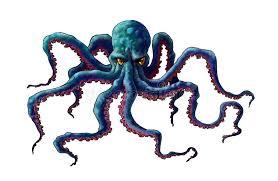 figure octopus royalty free stock photos image 33473328