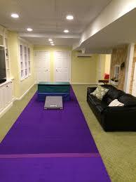 indoor gymnastics area also pinning for basement finishing ideas