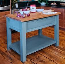 Blue Kitchen Island by Kitchen Furniture Hand Crafted Custom Light Blue Oak Kitchen