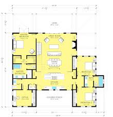 Split Floor Plan House Plans by Farmhouse Style House Plan 3 Beds 2 5 Baths 2720 Sq Ft Plan 888