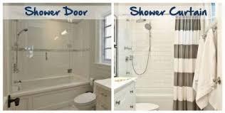 Removing Shower Doors Sliding Shower Door Vs Curtain Gopelling Net
