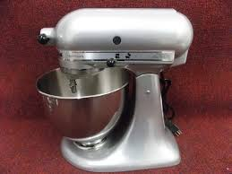 5 Quart Kitchenaid Mixer by Kitchenaid Ksm150psmc Artisan Series 5 Quart Stand Mixer Silver