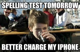 Spelling Meme - image 404303 lazy college senior know your meme
